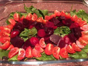 tomaatbietsalade