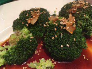 broccoli met gember en sojasaus